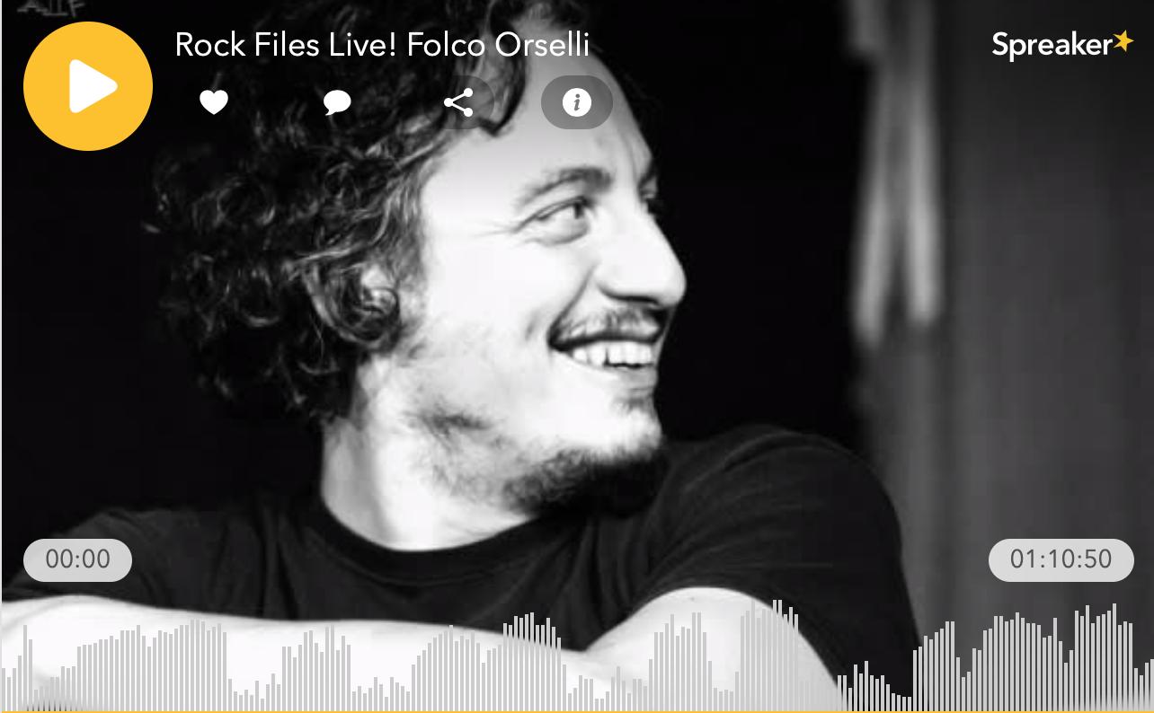 Rock Files Life - Folco orselli